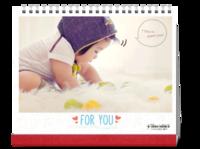萌宝成长记 亲子幸福宝贝 亲爱的宝贝 love-10寸单面印刷台历