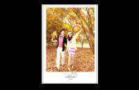 婚礼的祝福-影楼婚纱模板(照片文字可更换)-8x12印刷单面水晶照片书21p