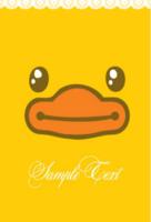 【小黄鸭漂游记】Gagaga嘎嘎嘎·萌动童年每一天-定制lomo卡套装(25张)