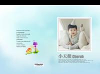 小天使-萌娃-宝贝-照片可替换-硬壳精装照片书30p