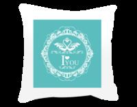 时尚花纹 相框抱枕-方形个性抱枕