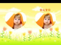 宝贝儿快乐成长--卡通、亲子、成长纪念-A4硬壳精装照片书30p