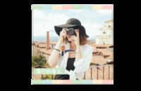 文艺范小清新-旅行的意义-8x8印刷单面水晶照片书21P