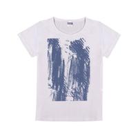 个性潮流衬衫童装纯棉白色T恤