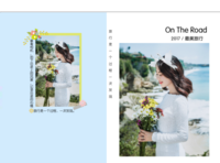 【旅行是一个过程,一次发现】在路上,图文可换-硬壳精装照片书30p