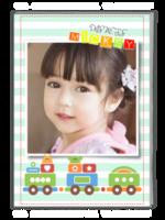 宝贝成长记(封面图片可替换)-A4杂志册(32P)