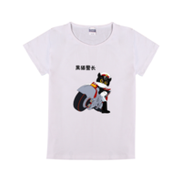 黑猫警长-时尚童装修身T恤