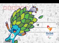 2016奥运会纪念版-全景明信片(横款)套装