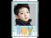 男孩-可爱-(照片可换)-A4时尚杂志册(24p)
