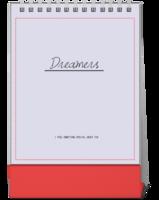 Dreamers追逐梦想勇敢前行-图文可改-时尚极简风-10寸竖款单面