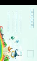 彩虹城堡-全景明信片(竖款)套装