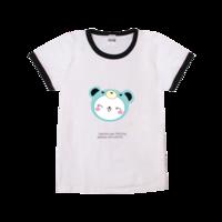 可爱笑脸-时尚童装撞色T恤