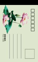 清心荷-全景明信片(竖款)套装