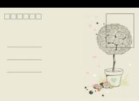 一盆花-全景明信片(横款)套装