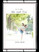 你和我,闺蜜情。最美的怀念-A4杂志册(32P)
