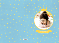 我家的小天使-小小的你是最闪亮的星-A3硬壳蝴蝶装照片书24P