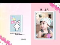 童年童画-硬壳对裱照片书30p