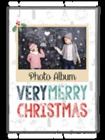 Merry Christmas 圣诞节快乐(节日礼物)炫白版 欧美经典原创高档精品自由设计-A4杂志册(42P)