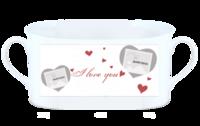 love-骨瓷白杯