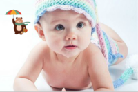 幸福宝宝-18寸木版画横款