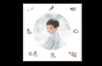 可爱萌宝的毕业纪念册#-8x8印刷单面水晶照片书21P