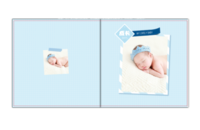 宝宝成长录-儿童相册 宝贝 周岁 百天纪念-贝蒂斯8X8照片书