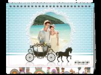 我们的浪漫爱情-8寸单面印刷台历
