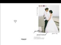 我们结婚啦-婚纱照 婚礼纪实-样图可换-硬壳对裱照片书30p