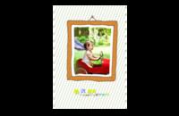 我的宝贝-8x12印刷单面水晶照片书20p