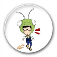 刘在石--RunningMan-4.4个性徽章