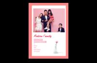 【时光记忆,我们的全家福】(图文可换)-8x12印刷单面水晶照片书20p