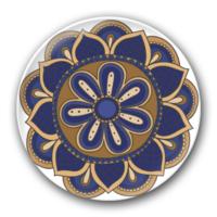 精美的花纹-3.2个性徽章