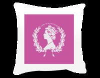 女王陛下-方形个性抱枕