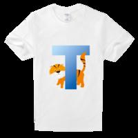 时尚T字母高档白色T恤