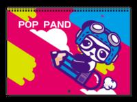POP PAND可爱小熊-A3横款挂历