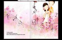浪漫情侣(卡通可爱)-8x12照片书