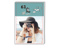 美好的旅行(封面封底图片可替换)-A4时尚杂志册(26p)