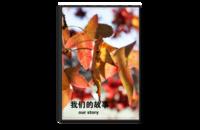 我们的故事 清新淡雅文艺系 亲子 爱情 闺蜜 同学 通用-8x12单面银盐水晶照片书