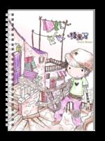 可爱快乐城堡(第二册)-A5笔记本定制