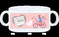 单车恋人-白杯