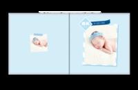 宝宝成长录-儿童相册 宝贝 周岁 百天纪念-贝蒂斯6x6照片书