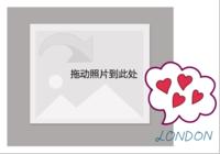 恋恋英伦简约风(旅行 情侣 白领 手绘)-彩边拍立得横款(18张P)