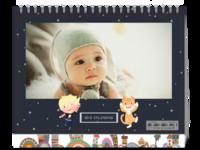 Happy Day-全家福宝宝 儿童台历 图文可改-8寸单面印刷台历