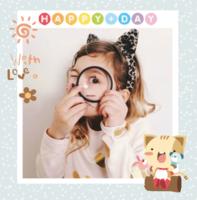 快乐宝贝,幸福纪念册-精美高档PU照片书8x8