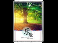 乐途系列-风景大片旅行杂志-A4时尚杂志册(26p)