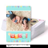 可爱宝贝快乐日记-双面定制扑克牌