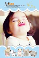 宝贝我的最爱(男宝女宝)--简洁 可爱 萌-8x12双面水晶银盐照片书20p