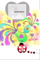 当爱心遇上蝴蝶扣-定制lomo卡套装(25张)