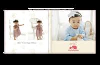 最新儿童模板{好运宝贝}系列-8x8照片书