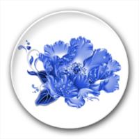 蓝色之花-4.4个性徽章